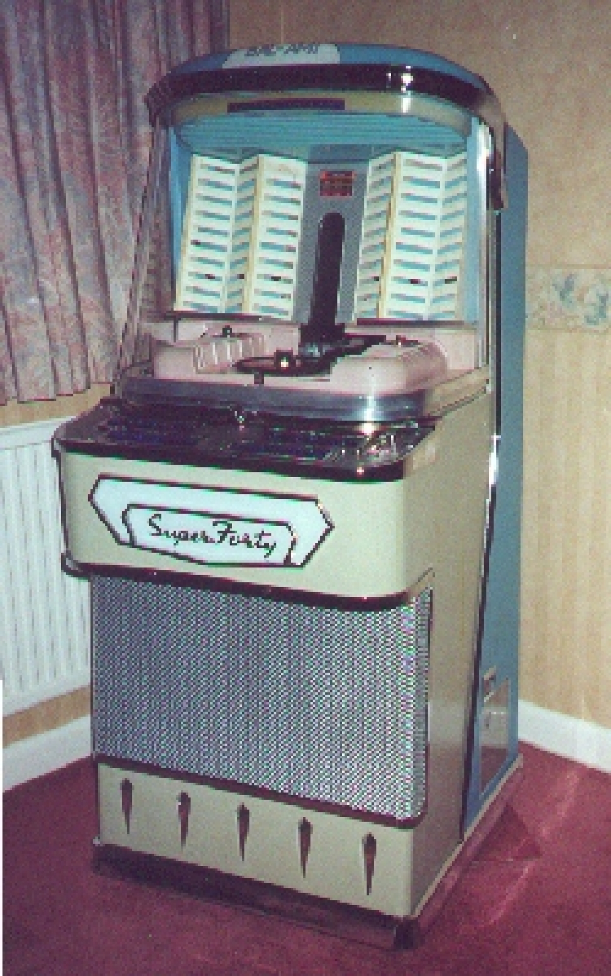 Super 40 Deluxe Warrington