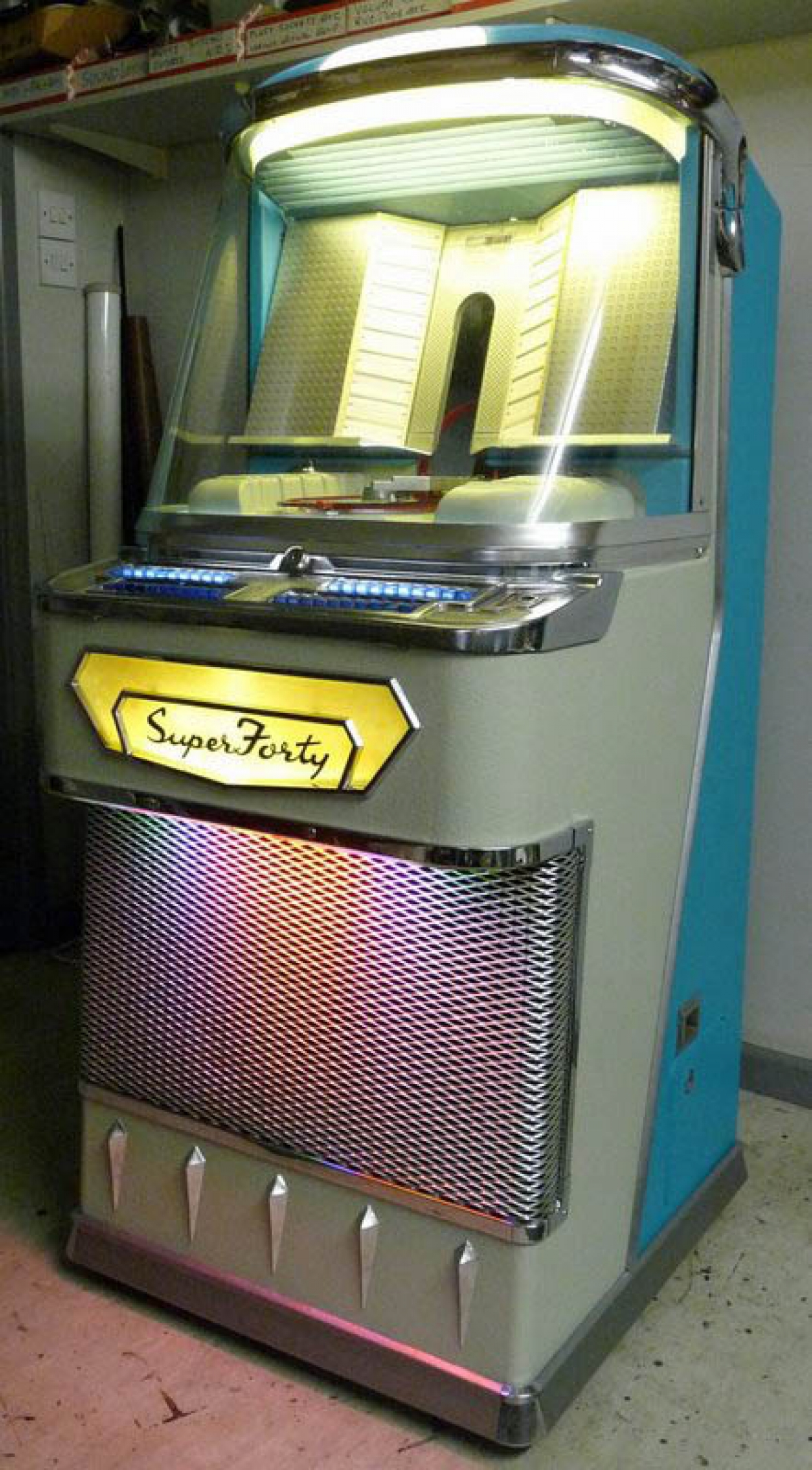Super 40 Deluxe Sheffield