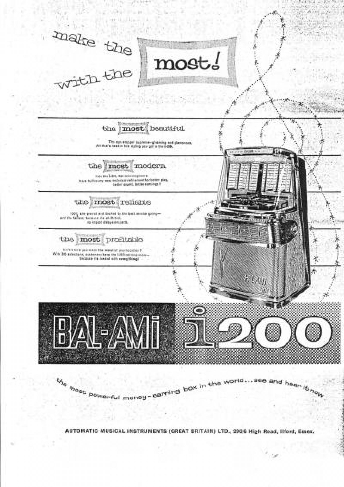Introduction Of The I200M 1958
