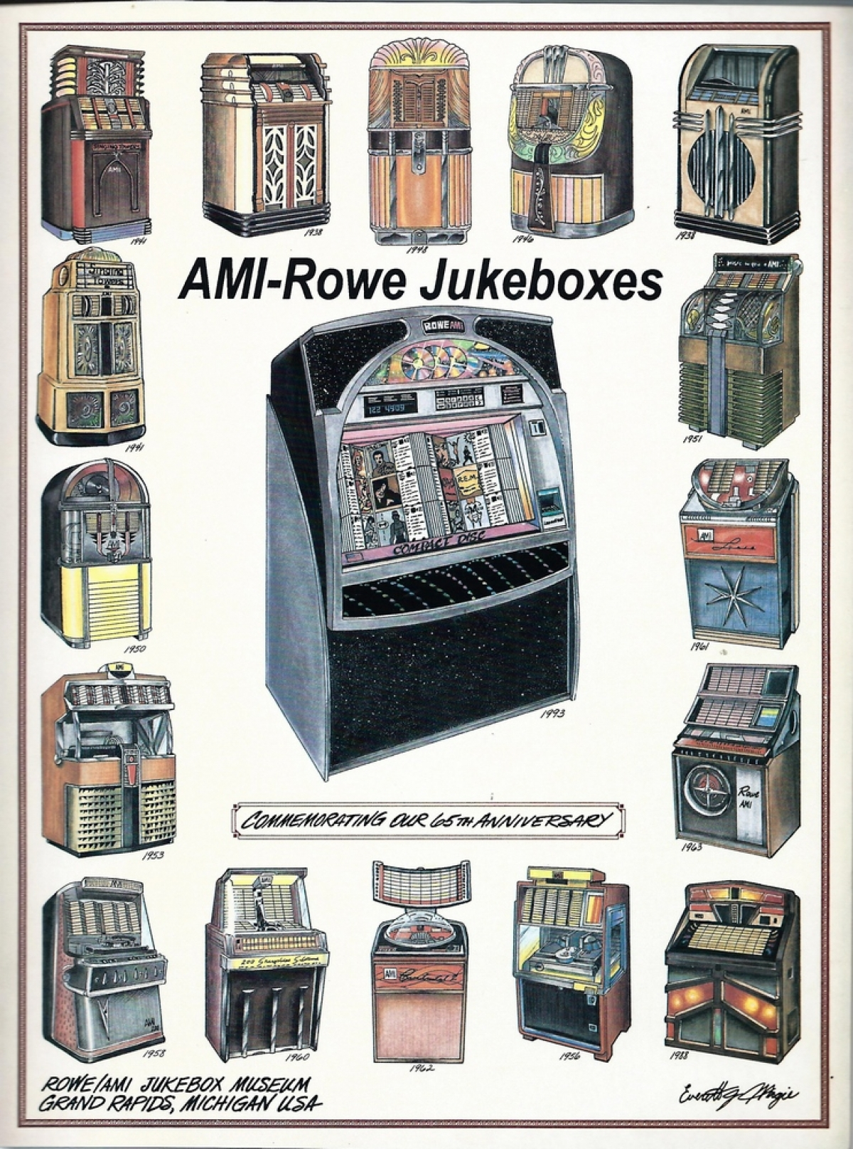 AMi Rowe Jukeboxes