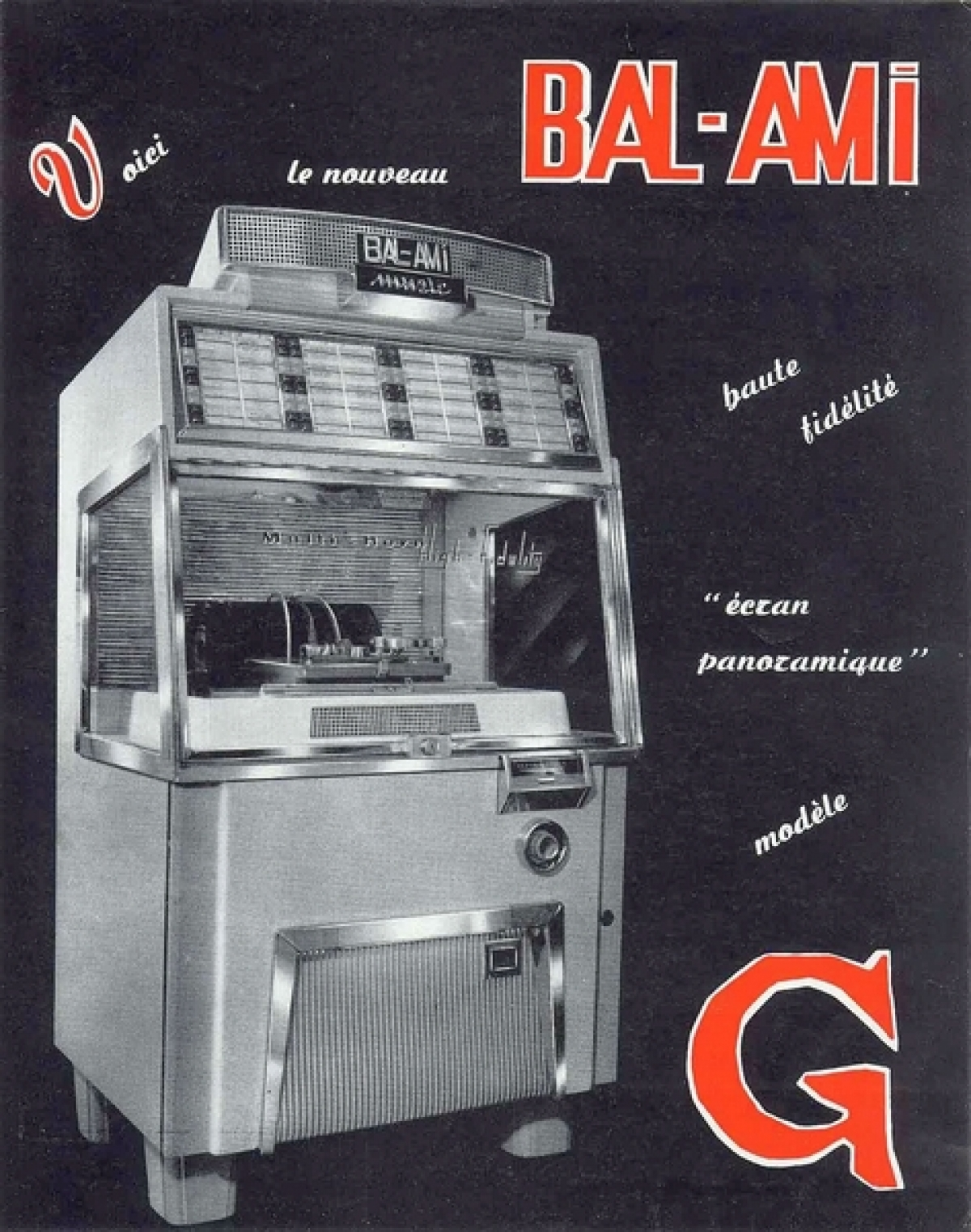 Model G French Ad